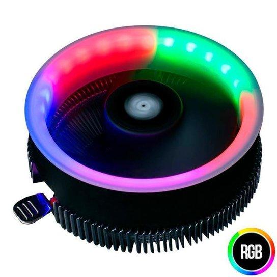 Cooler para Processador Pichau Gaming Sparrow RGB Rainbow PGSPA-01-RGB - Preto
