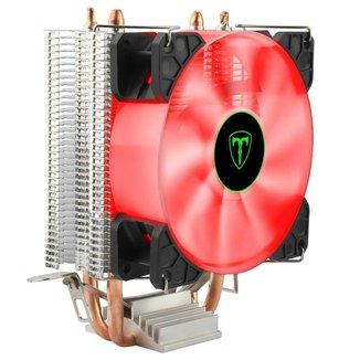 Cooler T-Dagger Idun T-GC9109 R - (AMD / Intel) - LED Vermelho