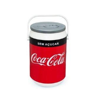 Cooler Térmico Coca-Cola  08 Latas