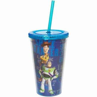 Copo Com Canudo Toy Story 450ml - Disney