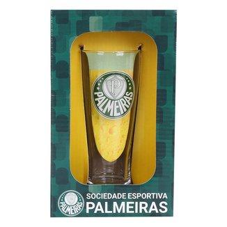 Copo de Chopp Palmeiras 300 ml Luva