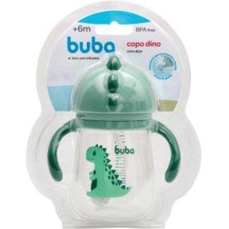 Copo Dino Com Alca  - Verde Buba Baby
