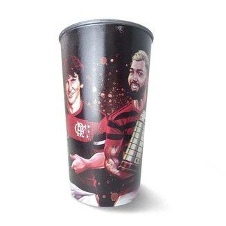 Copo Flamengo Zico Gabigol Libertas 550 ml