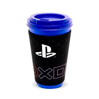 Copo Fun 550Ml Com Cinta Simbolos Playstation