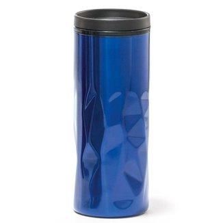 Copo Travel 520 ml Parede Dupla TopGet - Azul