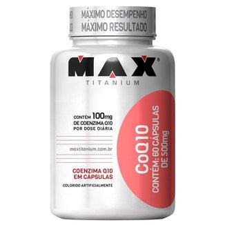 CoQ 10 60 Cáps - Max Titanium