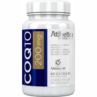 COQ10 200mg 60 Cáps- Atlhetica Nutrition
