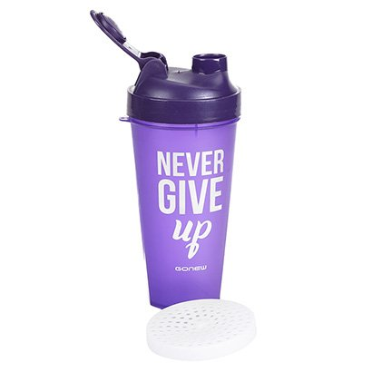 Coqueteleira Gonew Never Give UP 600ml