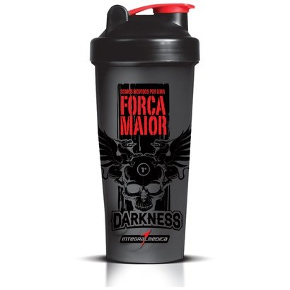 Coqueteleira Integralmédica Darkness – 600 ml