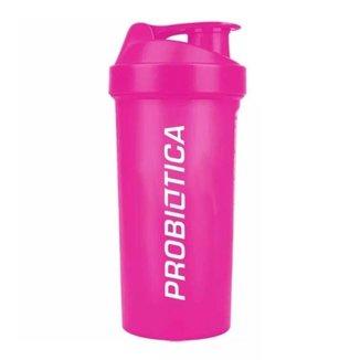Coqueteleira Rosa - 700ml - Probiótica