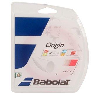 Corda Babolat Origin 16L 1.30mm Coral - Set Individual