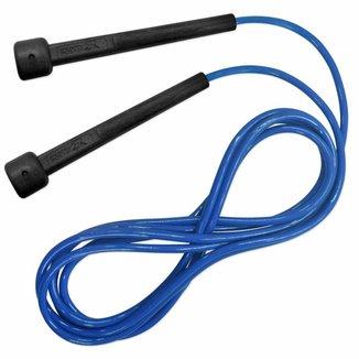 Corda de Pular Muvin Basics em PVC Tamanho Ajustável - Saltos Velocidade Exercícios Treino Funcional