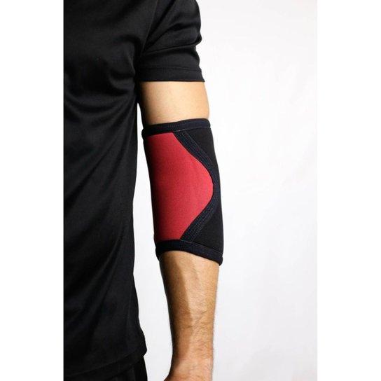 Cotoveleira 5mm - Acction Brasil - Crossfit - Vermelho