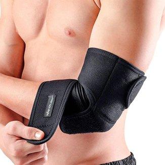 Cotoveleira ortopédica de compressão manga tensor ajustável