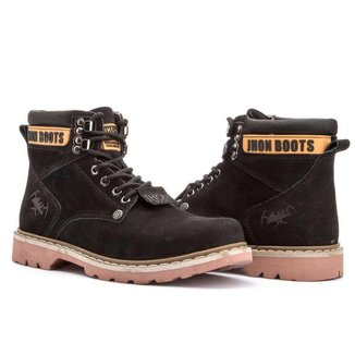 Coturno Jhon Boots Casualstock Masculina
