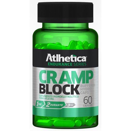 Cramp Block Buffered Hydro Atlhetica Nutrition 60 Cáps -
