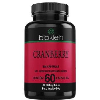 Cranberry  60 Cápsulas  Bioklein