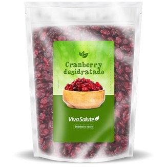 Cranberry Desidratada Viva Salute Embalado a Vácuo - 1 Kg