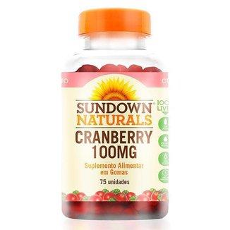 Cranberry em Gomas 100mg - Sundown Vitaminas