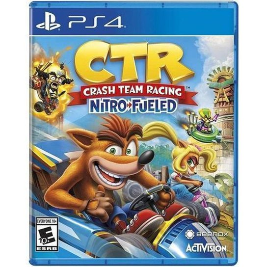 Crash Team Racing Nitro Fueled - PS4 - Incolor