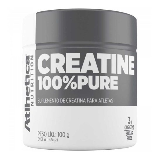 Creatina 100% Pura 100g Athetica -