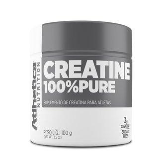 Creatina 100% Pura 100g - Atlhetica Nutrition