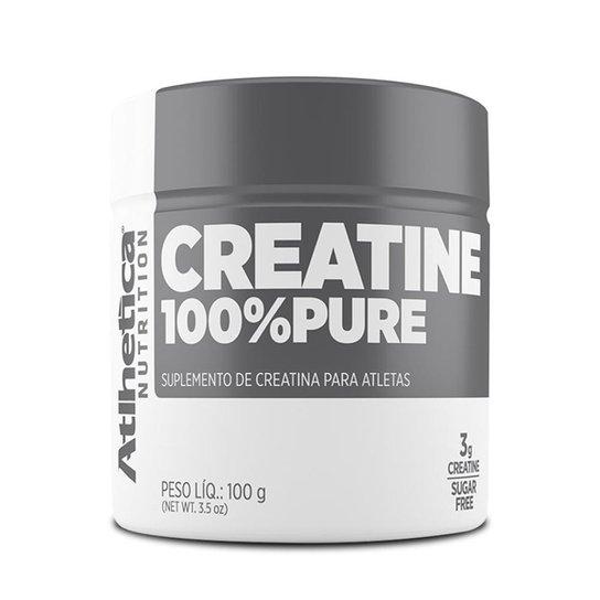 Creatina 100% Pura 100g - Atlhetica Nutrition -