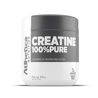 Creatina 100% Pura 300g - Atlhetica Nutrition