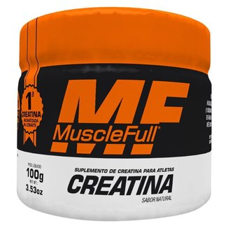 Creatina - 100g Natural - MuscleFull
