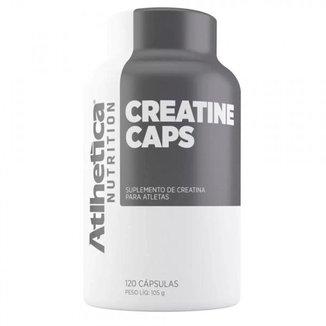 Creatina 120 Cáps - Atlhetica Nutrition