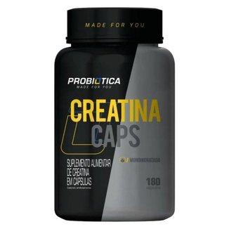 Creatina - 180 caps - Probiótica