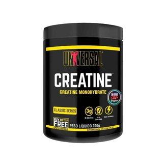 Creatina - 200g - Sem Sabor - Universal Nutrition