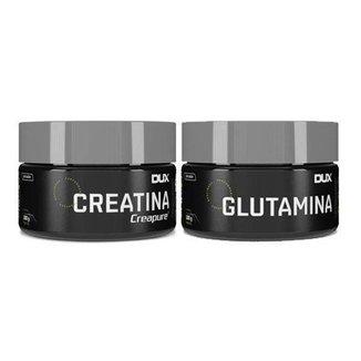 Creatina Creapure 100g + Glutamina 100g Dux Nutrition