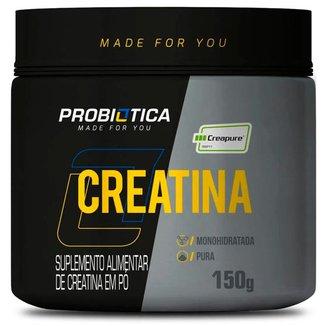 Creatina Creapure Monohidratada Pura 150g Probiotica