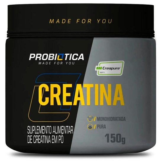 Creatina Creapure Monohidratada Pura 150g Probiotica -
