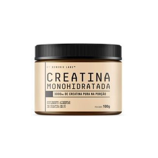 Creatina Monohidratada (100g) - Generic Labs