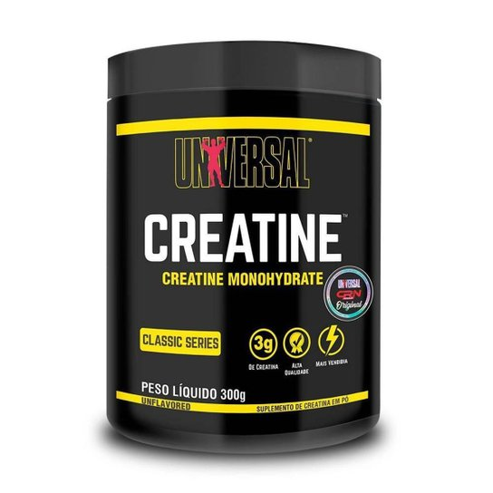 Creatina Monohidratada 300g - Universal Nutrition -