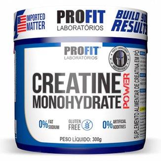 Creatina Monohydrate Power 300g - Profit