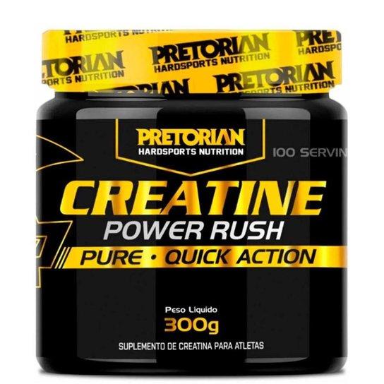 Creatina Power Rush 300g - Pretorian -