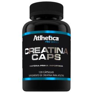 Creatina Pro Series 120 Cáps - Atlhetica Nutrition