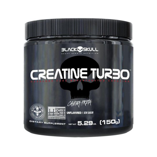 Creatina Turbo 150gr - Black Skull -