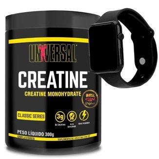 Creatina Universal 200g - Universal Nutrition + Relogio Digital