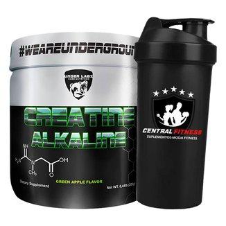 Creatine Alkaline 200g - Under Labz + Coqueteleira