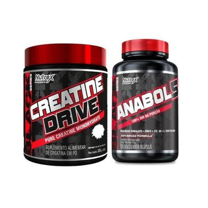 CREATINE DRIVE (300g) + ANABOL5 (60 Cápsulas)