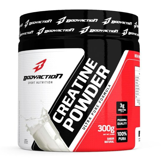 Creatine Monohydrate 300 g - Body Action -