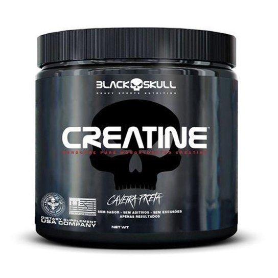 Creatine Pure Monohydrate - 150g - Black Skull -