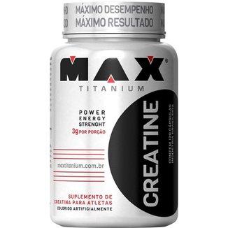Creatine Titanium 120 Cáps - Max Titanium