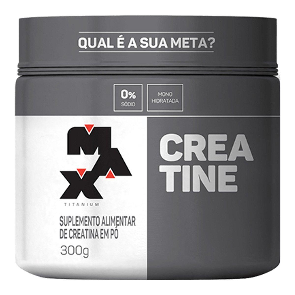 Creatine Titanium 300 g - Max Titanium 78d757650bd