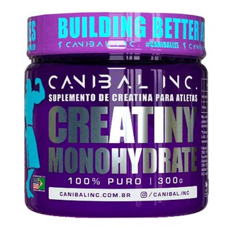 Creatiny Monohydrate 100% Puro - Canibal Inc