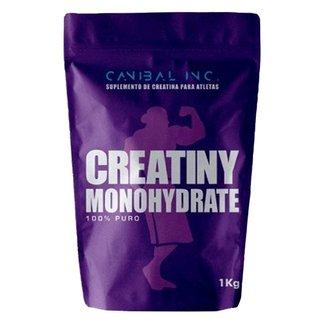 Creatiny Monohydrate 1kg - Canibal Inc